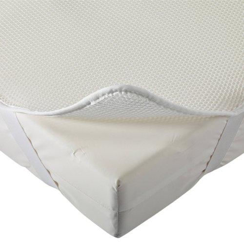 Aerosleep AB-120-060 - Funda de colchón, 60 x 120 cm, Color Blanco