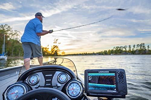 Lowrance HOOK Reveal 7x SplitShot - 7-inch Fish Finder