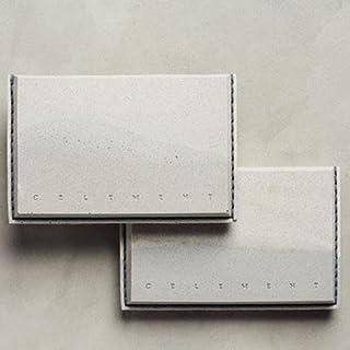 TRIPLE LIVING STUDIO コンクリートカードケース グレー   名刺入れ/カードケース/おしゃれ/メンズ/