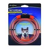 Nite Ize NiteHowl LED Dog Light Collar Safety Necklace - Orange