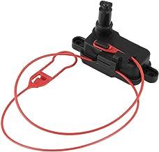 KIMISS 4L0862153D ABS Plastic Car Fuel Flap Door Release Lock for Audi A3 A6 A7 Q3 Q7
