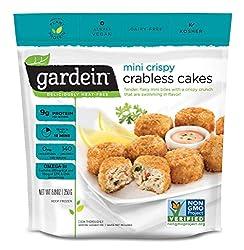 Gardein Mini Crispy Plant-Based Crabless Cakes, Vegan, Frozen, 8.8 oz.