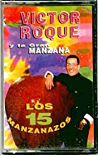 Victor Roque ~ Y La Gran Manzana [And The Big Apple] Los 15 Manzanazos (Original 1993 Rodven Records 6018 CASSETTE Tape NEW Factory Sealed in the Original Shrinkwrap ~ Features 15 Tracks ~ See Seller's Description With Track Listing)