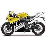 MPW Kit de carenado de calcomanías pintadas Yellow Race Replica compatibile con Yamaha YZF R125 2014-2018