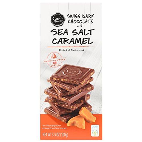 image of Sam's Choice Swiss Sea Salt Caramel Dark Chocolate