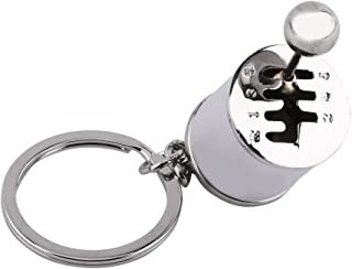 Gear Shift Keychain Creative Auto Gear Shifter Model Keychain Keyring Car Part Shaped Metal Alloy Key Rings