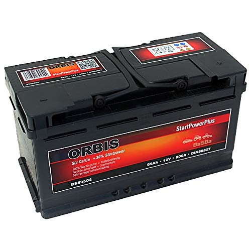 Preisvergleich Produktbild Orbis 12V 95Ah 59502 StartPower KFZ Batterie Starterbatterie - einsatzbereit