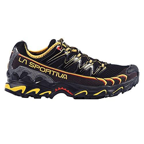 La Sportiva Ultra Raptor Men's Mountain Trail Running Shoe, Black/Yellow, 39