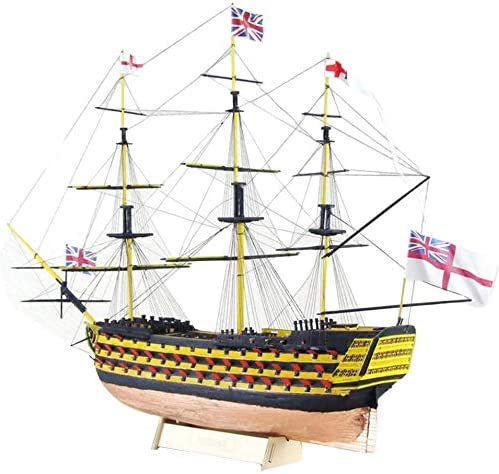 HMS Victory 3D Wooden Puzzle DIY Craft Kits Don't miss the campaign Laser-Cut outlet Ship Model