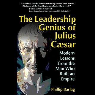The Leadership Genius of Julius Caesar audiobook cover art