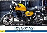 Mythos MZ - Ein DDR-Motorrad auf Kuba (Wandkalender 2021 DIN A3 quer)