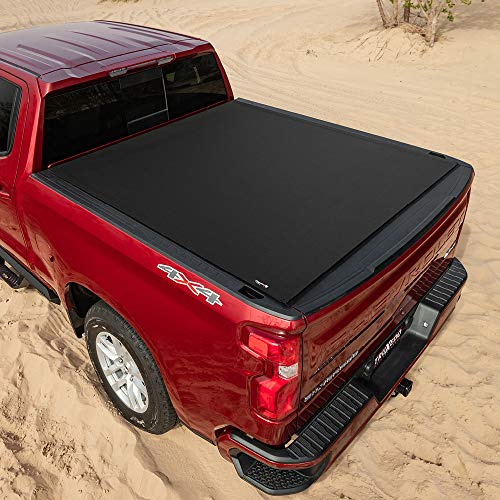 TruXedo Sentry CT Hard Rolling Truck Bed Tonneau Cover   1584916   Fits 2019 - 2021 Dodge Ram 1500, Does Not Fit w/ Multi-Function (Split) Tailgate 5' 7