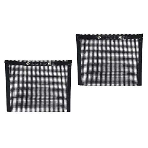 Best Buy! Serenable 2-Pack BBQ Grill Mesh Bag, Non-Stick BBQ Baked Bag, Reusable and Easy to Clean N...