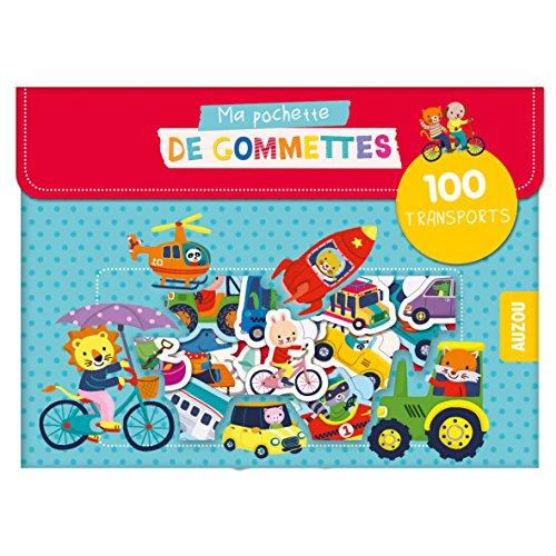 MA POCHETTE DE GOMMETTES - 100 GOMMETTES LES TRANSPORTS: 100 TRANSPORTS