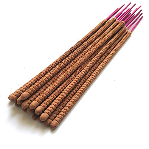 SINAWIND 15.35'(39cm) Sandalwood Incense Sticks 21 Packed 4hours joss Sticks