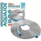 Aqua Joe AJSGH50 1/2-Inch Heavy-Duty, Puncture Proof Kink-Free, Spiral...