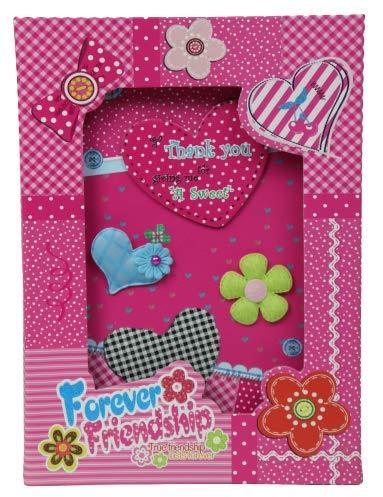 Perpetual Bliss Embossed Printed Secret Lock Diary Notebook Lockable Book for Girls Kids