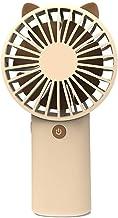 WWXL Leaveless USB-ventilator, stille krachtige grote tas, USB-oplader, draagbare handheld kleine ventilator, mini-ventila...