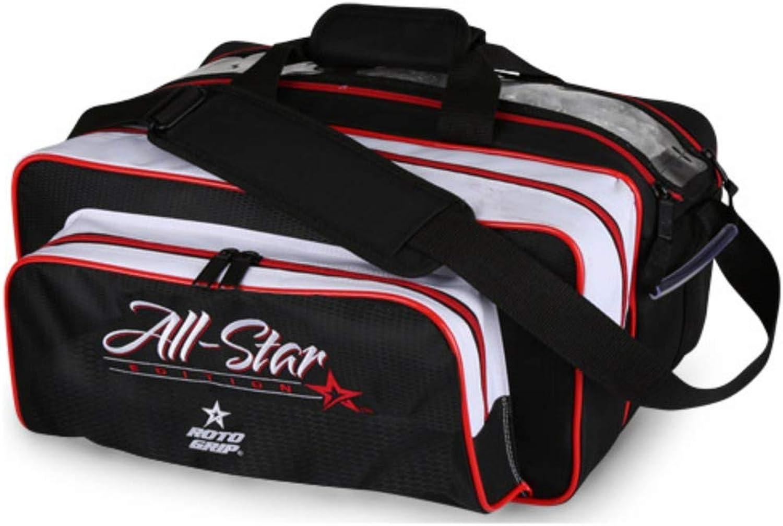 Redo Grip RG2203 Bowling Bag, White Black,