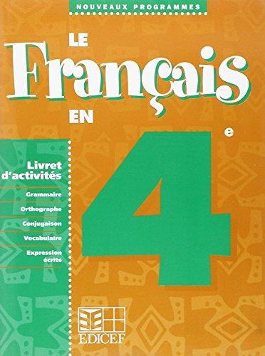 Le Français en 4e / Livret d'activités
