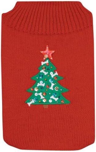 Casual Canine price Acrylic Twinkling Star Dog 7-Inc Sweater Boston Mall X-Small