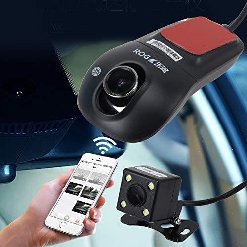 Cámara de asistencia de estacionamiento oculto de gama alta For monitor 170 grados Sistema de control de unidad auxiliar inteligente de visión nocturna Full HD 1080P HD de visión nocturna todo Android