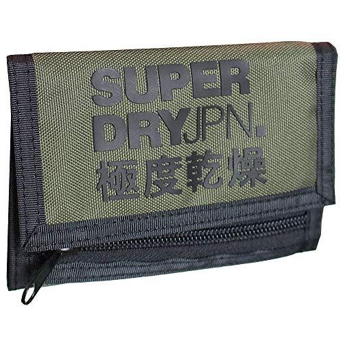 Superdry Portemonnaie, dreifach gefaltet, Schnittlauch