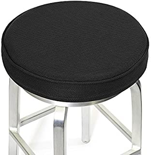 Shinnwa Bar Stool Cushions,Memory Foam Bar Stool Covers Round Cushion with Non-Slip Backing and Elastic Band 14