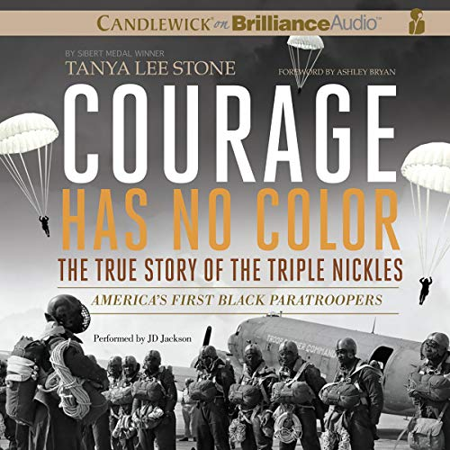 Courage Has No Color audiobook cover art