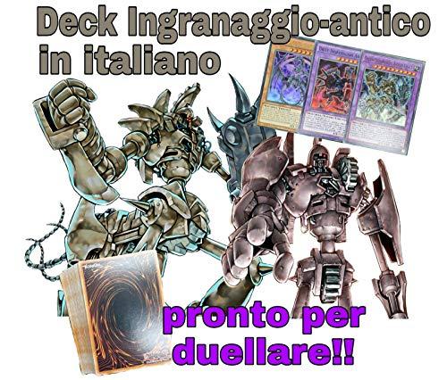 #MYDECK Yu-Gi-Oh! - Deck Completo - Ingranaggio-Antico - Mazzo Completo di 40 Carte + Extra Deck - Pronto per Duellare