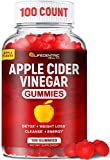 Apple Cider Vinegar Gummies with The Mother | Delicious Alternative to Apple Cider Vinegar Capsules and Apple Cider Vinegar Pills for Weight Loss | 100 Count Gluten-Free Organic Unfiltered ACV Gummies