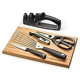 Wusthof Silverpoint II 6 Piece Kitchen Knives Essentials Set 9065