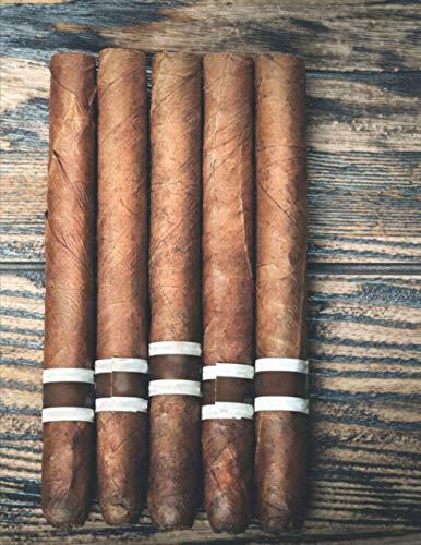 Meine perfekte Zigarre: Logbuch um deine Zigarren zu bewerten ♦ Dokumentiere sämtliche Aromen, Optik, Geschmäcker ♦ Im großzügigen A4+ Format für alle Zigarrenliebhaber ♦ Motiv: Zigarren auf Tisch