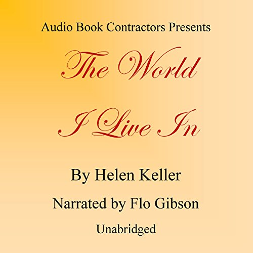 The World I Live In audiobook cover art