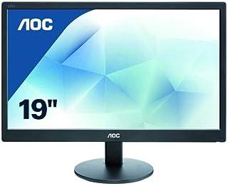 AOC 19 Inch LCD Monitor, Black - E970SWN