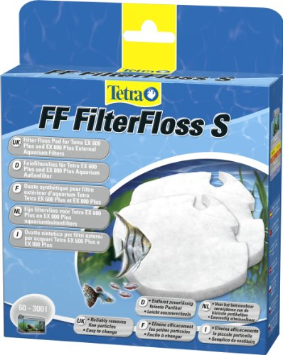 Tetra FF FilterFloss S - Feinfiltervlies für die Tetra EX Außenfilter