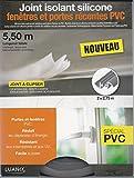 JOINT ISOLANT SILICONE SPECIAL PORTE ET FENETRE PVC