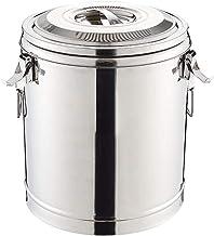 ZZZR 304 roestvrij staalisolatie vat, kraam met sojamelk rijst en warm water emmer dubbellaags huishouden, dubbellaags emmer