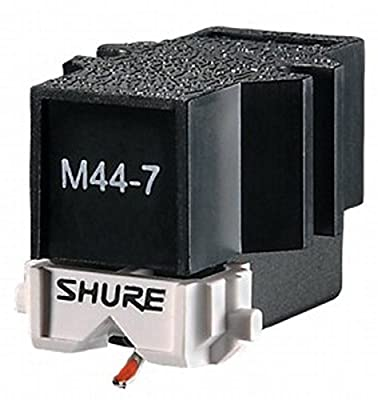 Shure M44-7 Standard DJ Turntable Cartridge by Shure Incorporated