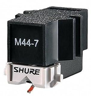 Progettato per scratch DJ e giradischi, l' M44–7è progettato per non saltare in circostanze anche i più esigenti Unica Wide-diameter Type S cantilever con una Forza di trazione di 1.5A 3.0grams Skip resistenza: Ultra High. Con un' uscita 9.5mV,...