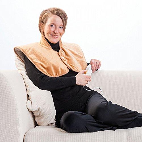 Elektrische Wärmeweste Komfort | Rückenwärmer | Nackenwärmer | Heizkissen | Heizdecke