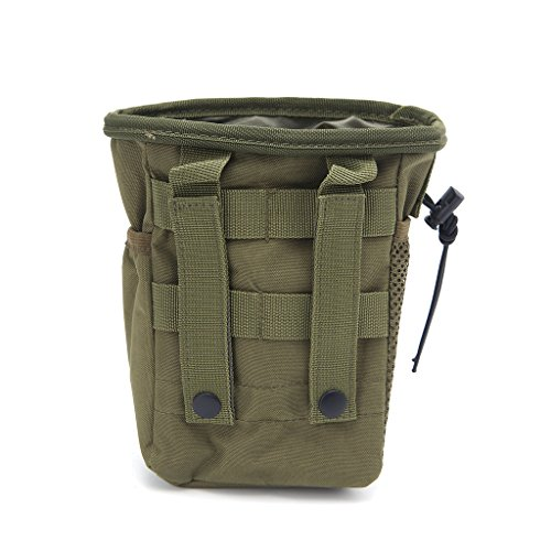 Aawsome Outdooer Utility Pouch Bag Bag Airsoft Military Molle Belt Tactical Dump Drop Bag armee-grün
