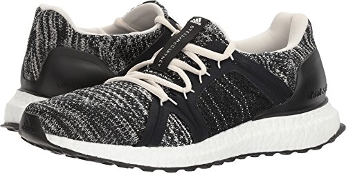 adidas by Stella McCartney Women's Ultra Boost Parley Core Black/Core Black/Chalk White 10.5 M US M