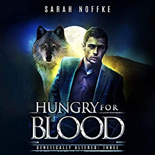 Hungry for Blood: A Science Fiction Paranormal Thriller  audiobook cover art