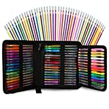 96 Color Artist Gel Pen Set, includes 24 Glitter Gel Pens 12 Metallic, 6 Pastel,6 Neon, plus 48...