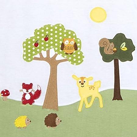 Slumbersac Saco de dormir para beb/é con dise/ño de animales del bosque para invierno, de manga larga, 3.5 tog, tallas de 0-6 a/ños Talla:6-18 meses
