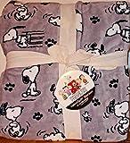 Snoopy Peanuts Berkshire Blanket Twin Super Soft Fleece