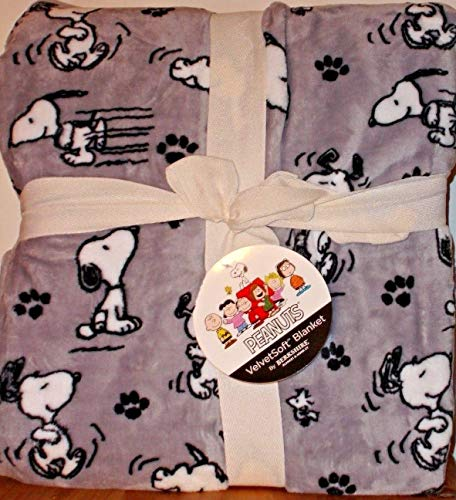 Snoopy Peanuts Berkshire Decke, Doppelbett, superweiches Fleece