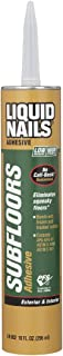 Liquid Nails LN902 VOC 10-Ounce Subfloors and Construction Adhesive
