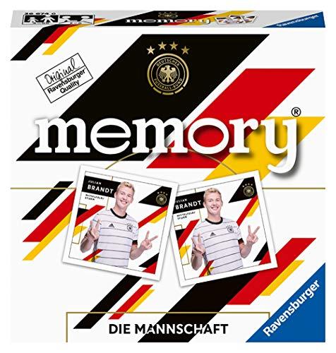 Ravensburger 26674 - DFB memory Die Mannschaft, der Spieleklassiker für alle Fußball Fans, Merkspiel mit Stars der Nationalmannschaft für 2-6 Spieler ab 4 Jahren